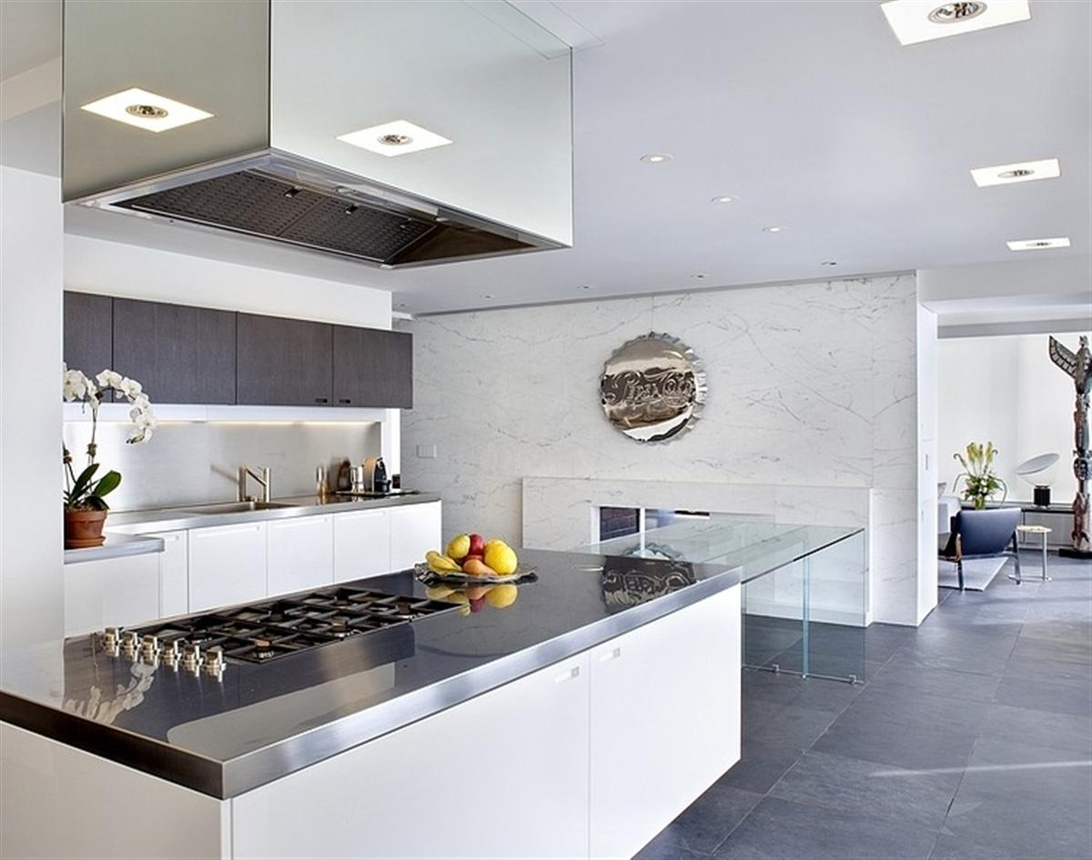 nice-stainless-steel-kitchen-countertop-design